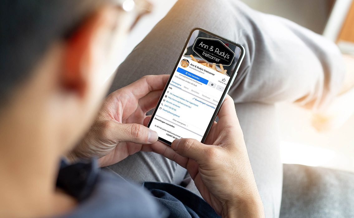 Online bestellen via one2three voor de horeca