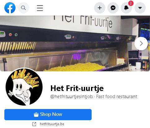 Het Frit-uurtje op Facebook